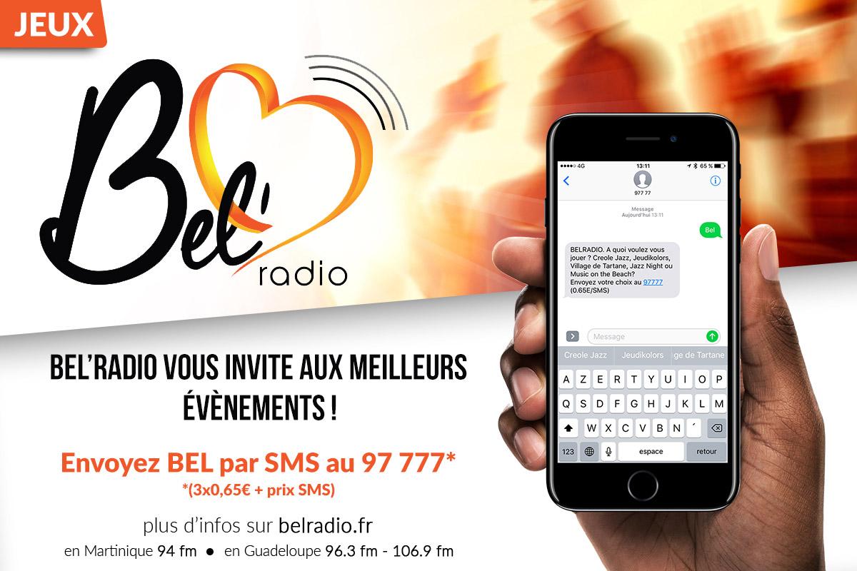 envoyez BEL par SMS au 97 777