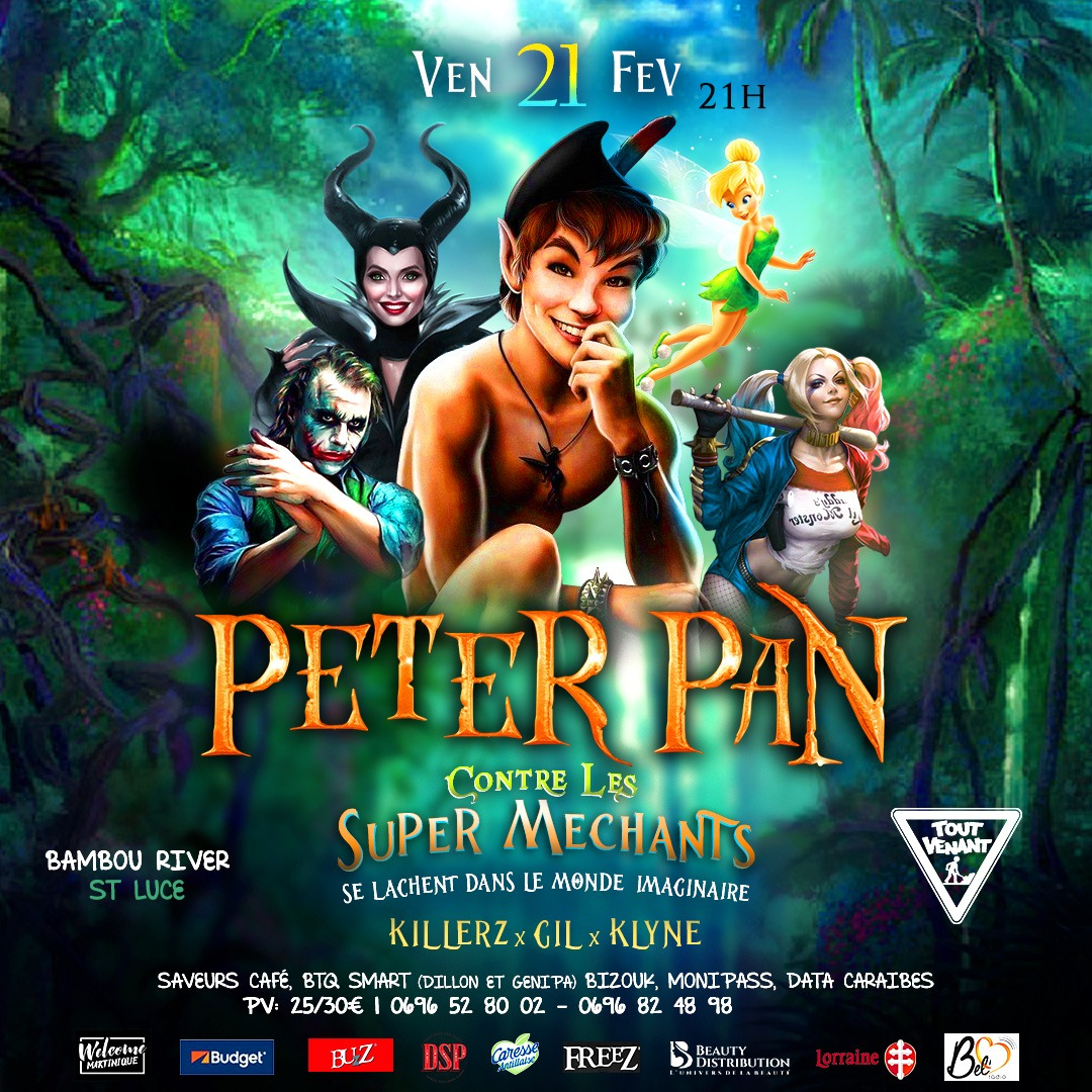 PETER PAN contre les Super Méchants